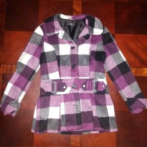 Ladies Large button up jacket